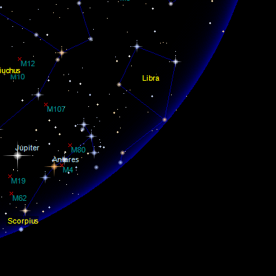 Sky Map Online Interactive Star Map on